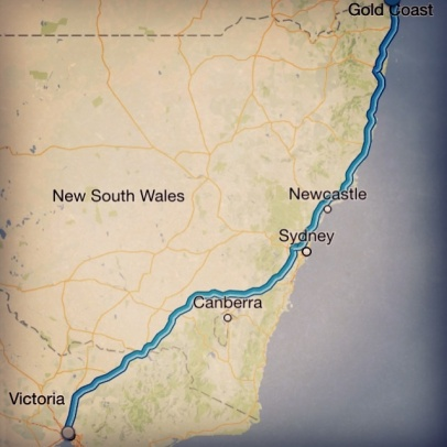 1800km, 3 days, 4 surfs ... and 5 McDonald's stops. What a road trip.