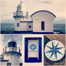 Port Mac's lighthouse.