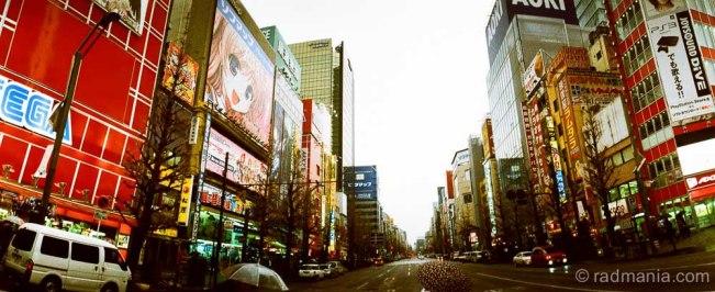 Akihabara street scape.