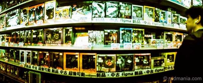 Inside a Manga shop in Akihabara.