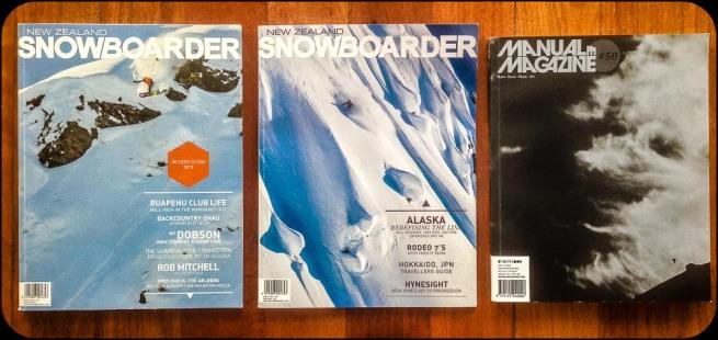 New Zealand snowboard magazines