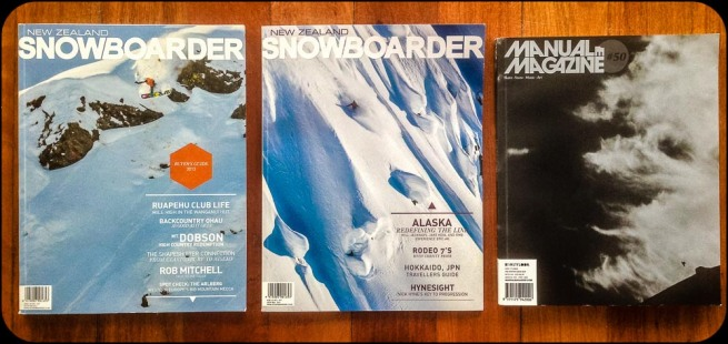 New Zealand snowboard magazines