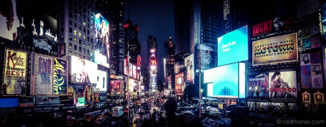 Radich NY-Times Square iPhone Panorama