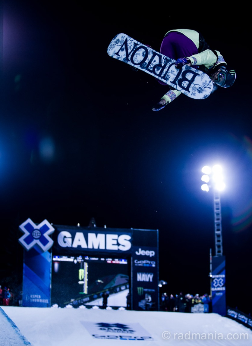 Chloe Kim wins X Games 2015 Gold