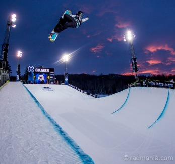 Kelly Clark at X Games 2015