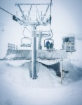 Perisher lift tower blizzard - Sean Radich
