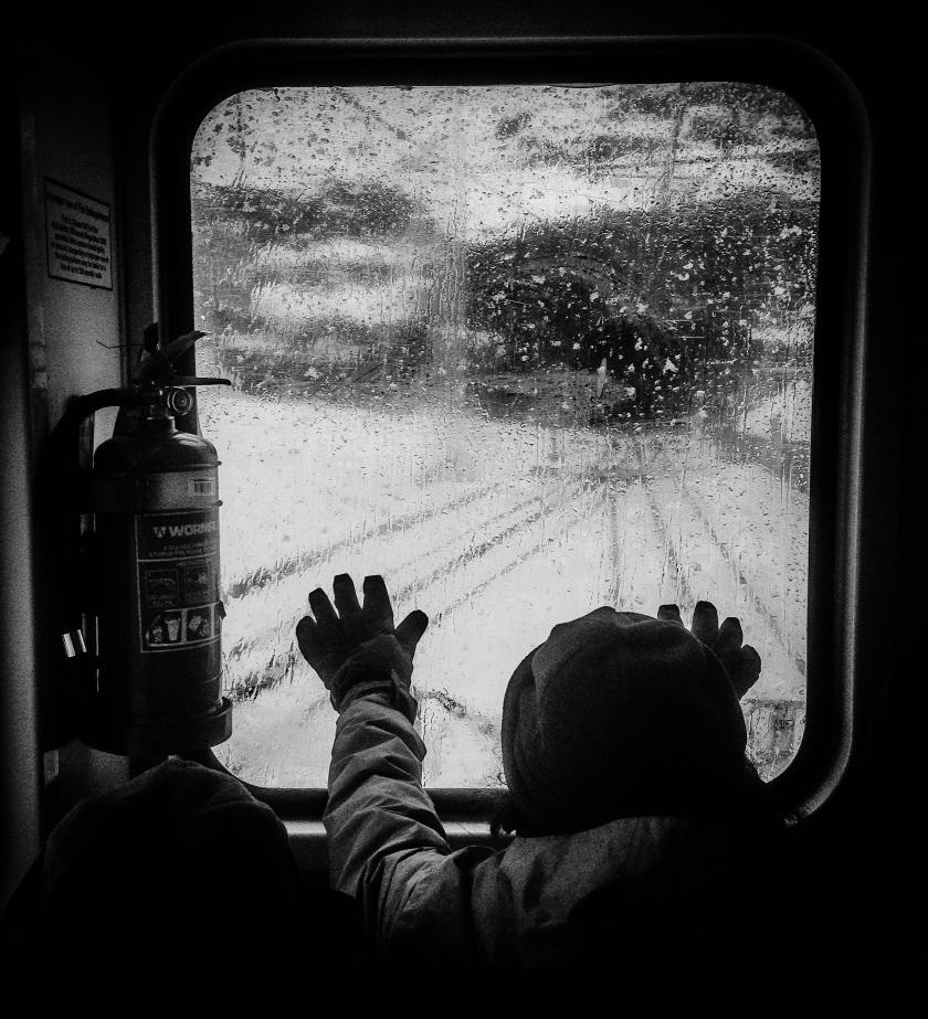 Skitube in snow - Sean Radich