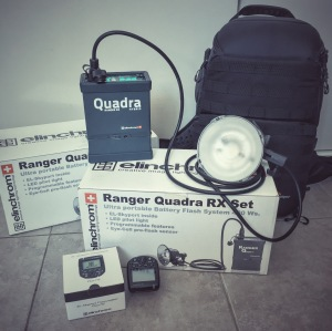 Radich Elinchrom Quadra and EL-Skyport Plus HS