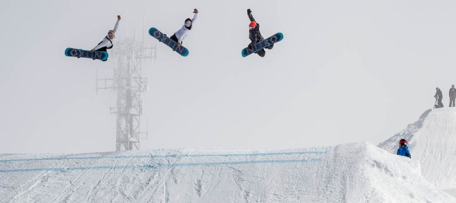 Nitro Snowboards method at Hotham