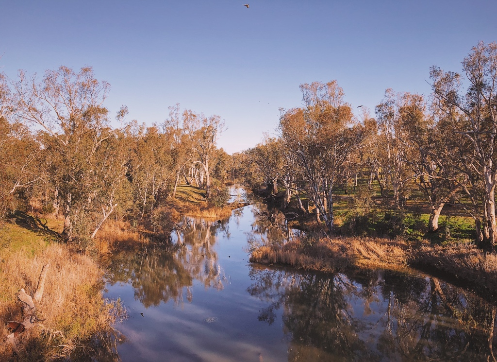 Loddon River at Newbridge, Victoria