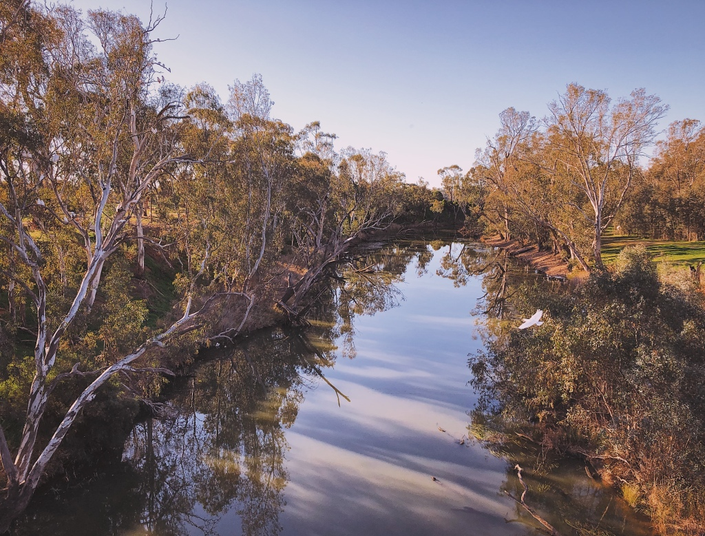 Loddon River at Newbridge, Victoria