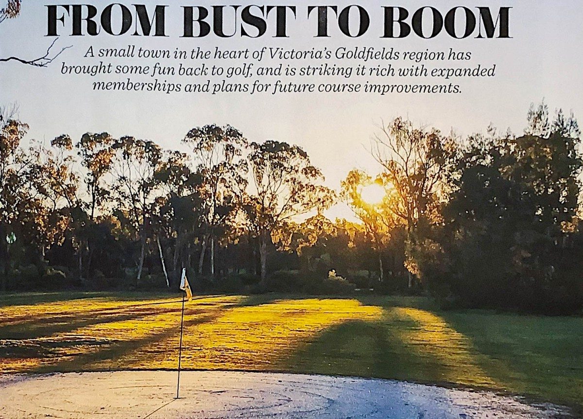 Tarnagulla Golf Club Features In Golf Australia Magazine